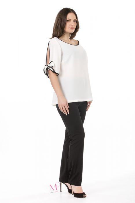 Modernoraptiki.gr - Γυναικεία Ρούχα Σε Μεγάλα Μεγέθη - Μπλούζα Crep Moss