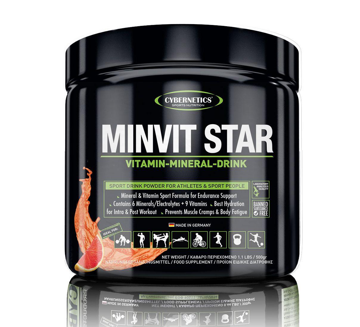 Bbbclub.gr - Συμπληρώματα Διατροφής - Ηλεκτρολύτες - CN MINVIT STAR 500gr