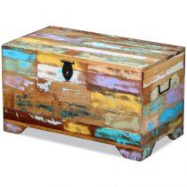 ξυλινο κουτι χρωματιστο